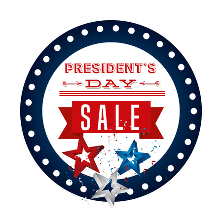 presidents day sale design, vector illustration eps10 graphic Stock Vector - 51557302
