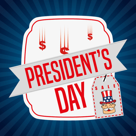 presidents: presidents day sale design, vector illustration eps10 graphic