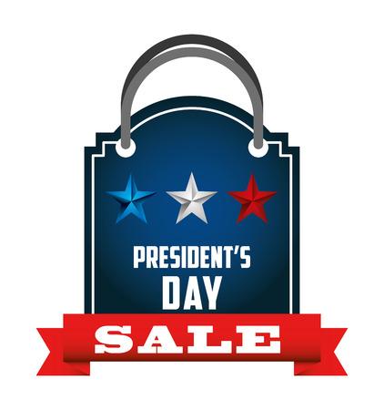 presidents: presidents day sale design, vector illustration eps10 graphic