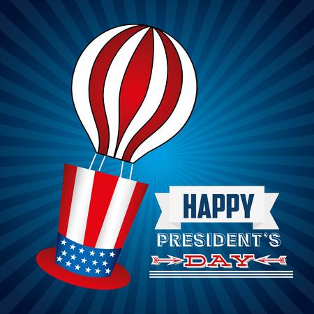president's: presidents day design, vector illustration eps10 graphic