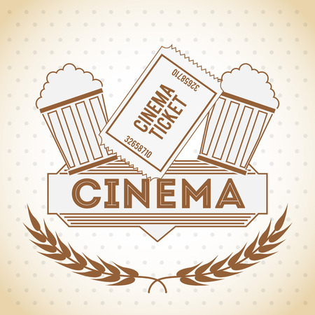 papaer: cinema entertainment design, vector illustration eps10 graphic Illustration