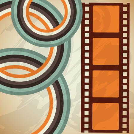 cinema film: cinema entertainment design, vector illustration eps10 graphic Illustration