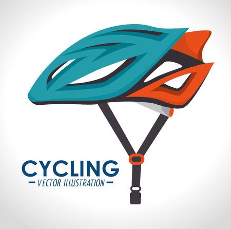 Fiets- en cyclism grafisch ontwerp, vectorillustratie eps10