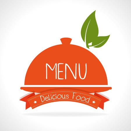 Restaurant and gastronomy graphic design, vector illustration eps10