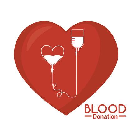 campaign: Blood donation campaign graphic design, vector illustration