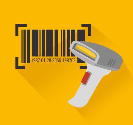 Código de barras de diseño, ejemplo gráfico del vector eps10 Foto de archivo - 51908396