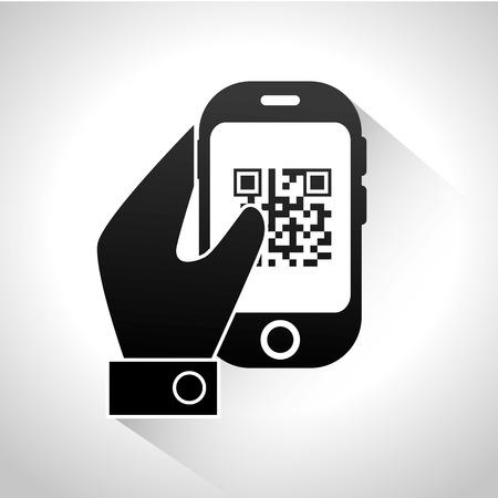 digital code: digital code design, vector illustration eps10 graphic Illustration