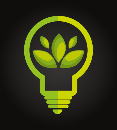 clean energy: clean energy design, vector illustration eps10 graphic Illustration