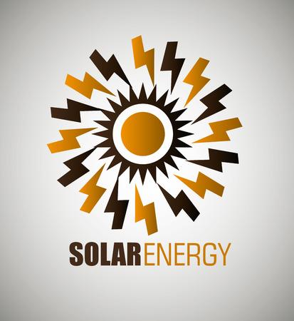 clean energy: clean energy design, vector illustration eps10 graphic Illustration