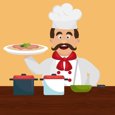 catering service: catering service design, vector illustration eps10 graphic