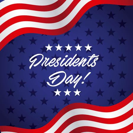 presidents day design, vector illustration eps10 graphic