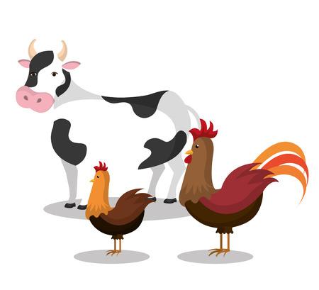 mamal: farm fresh design, vector illustration eps10 graphic Illustration