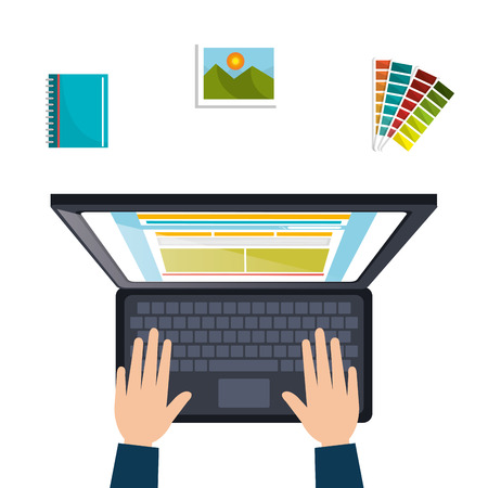 user icon: web design concept , vector illustration eps10 graphic