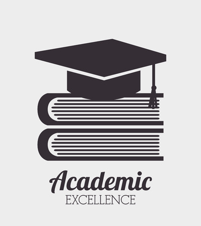 academic excellence design, vector illustration eps10 graphic