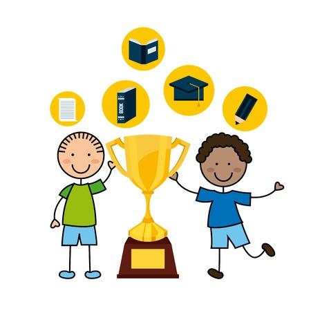 elementary: elementary school design, vector illustration eps10 graphic