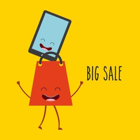 commerce: character commerce design, vector illustration eps10 graphic