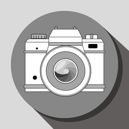 artistic photography: camera icons design, vector illustration eps10 graphic