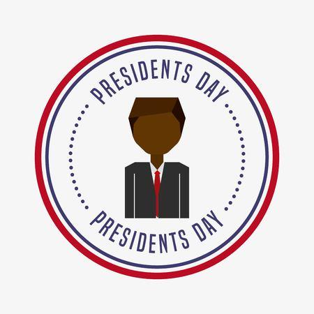 presidents day: presidents day design