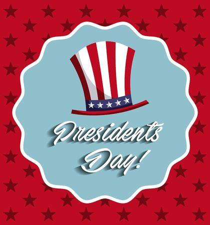 president's: presidents day design