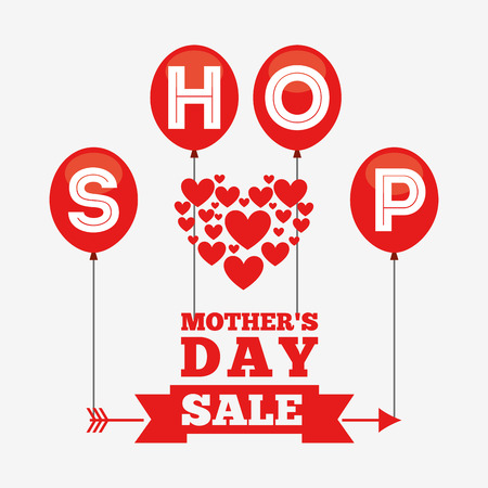 mothers day sale design, vector illustration eps10 graphic