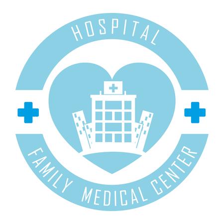 emergency medical: hospital medical center design, vector illustration eps10 graphic Illustration