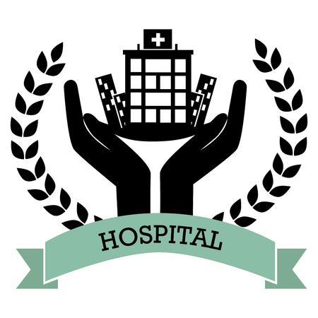 medical center: hospital medical center design, vector illustration eps10 graphic Illustration