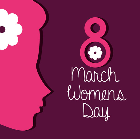 womens: happy womens day design, vector illustration eps10 graphic