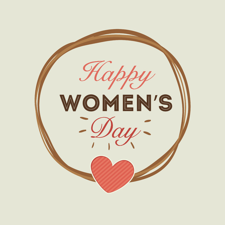day: happy womens day design, vector illustration eps10 graphic