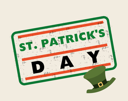 saint patricks day design, vector illustration eps10 graphic
