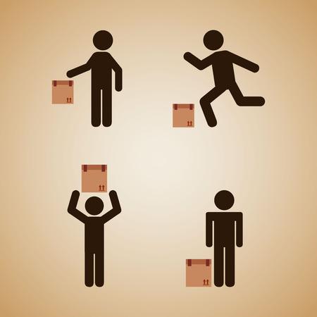 good deal: men sign design, vector illustration eps10 graphic Illustration