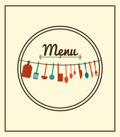 bar tool set: menu restaurant design, vector illustration eps10 graphic Illustration