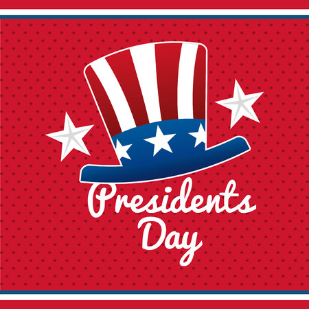 presidents day design, vector illustration eps10 graphic
