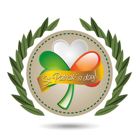 st patricks party: saint patricks day design, vector illustration eps10 graphic
