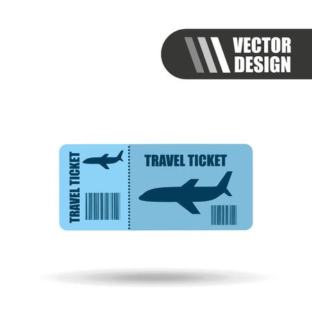 airplane travel: airplane travel design, vector illustration eps10 graphic Illustration