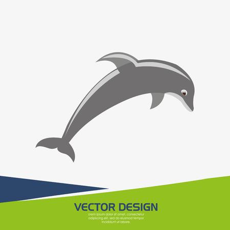 mamal: beach icon design, vector illustration eps10 graphic Illustration