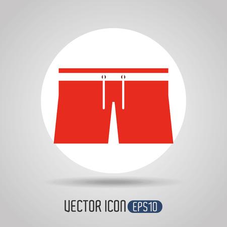 swiming: beach icon design, vector illustration eps10 graphic Illustration