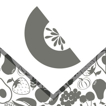 produce product: fruits and vegetables design, vector illustration eps10 graphic