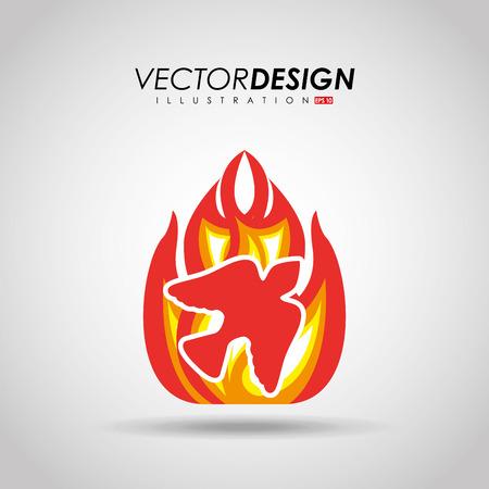 spirits: catholic icon design, vector illustration eps10 graphic