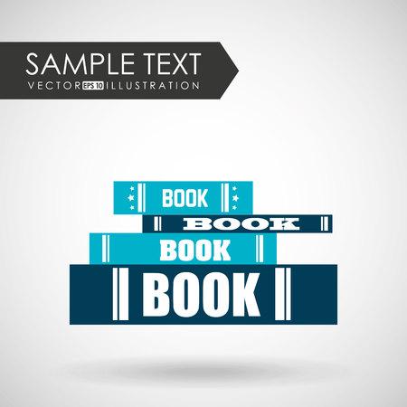 publishes: book icon design, vector illustration eps10 graphic Illustration