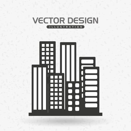 construction companies: buildings icon design, vector illustration graphic