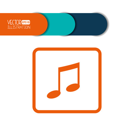 thumb keys: social media icon design, vector illustration   graphic Illustration