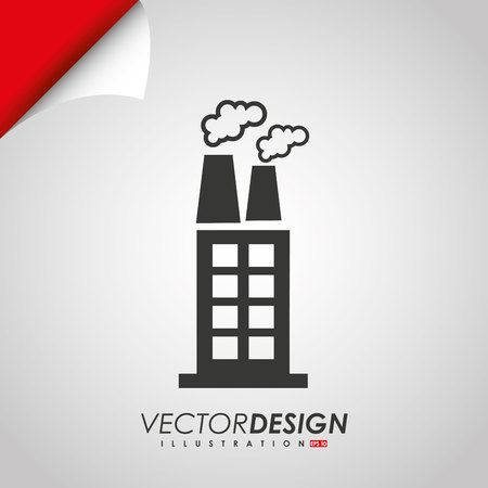 building industry: buildings icon design, vector illustration eps10 graphic