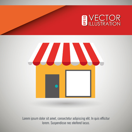 retail place: commerce icon design, vector illustration eps10 graphic