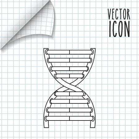 wetenschap pictogram ontwerp, vectorillustratie eps10 grafische