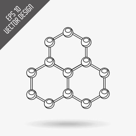 Wetenschap pictogram ontwerp, vectorillustratie eps10 grafische Stockfoto - 52432783