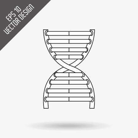 Wetenschap pictogram ontwerp, vectorillustratie eps10 grafische Stockfoto - 52432806