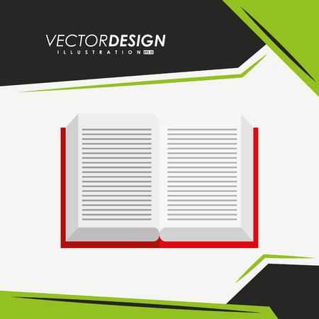 abstract academic: education icon design, vector illustration eps10 graphic