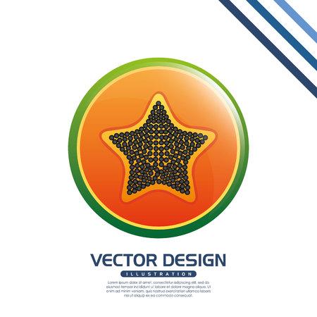 delicious: delicious fruit design, vector illustration eps10 graphic