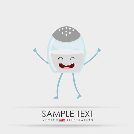 karakter food design Vector Illustratie