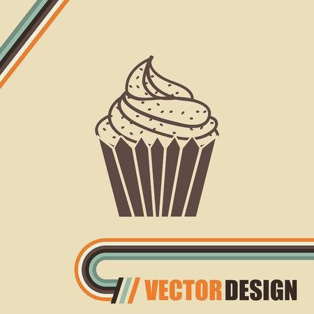 bakery icon design Ilustrace